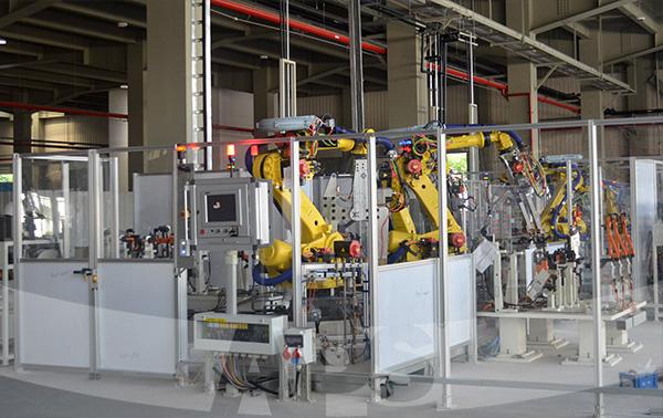 机器人防护围栏