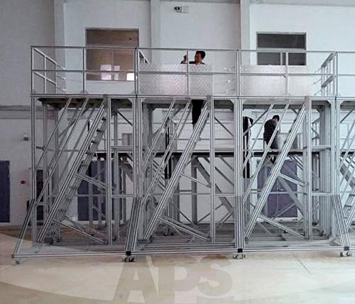 直升机检修平台楼梯